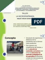 taller La Microenseñanza