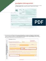 Übungsaufgaben Zahlungsverkehr