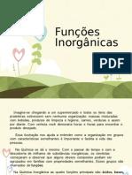 Funções Inorgânicas- Trabalho de Quimica