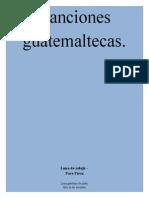 Canciones Guatemaltecas 22