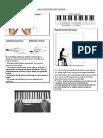 Aspectos Técnicos en El Piano