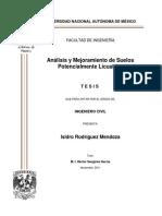 Tesis Anilisis y Mejoramiento de Suelos Potencialmente Licuables