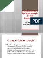 Fundamentos Epistemológicos Da Pedagogia