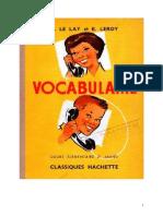 120501440 Langue Francaise Vocabulaire 02 CE2 H Le Lay Et E Leroy Hachette
