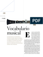 Vocabulario Musical