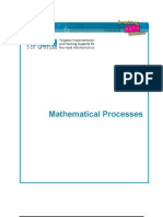 Mathematical Processes