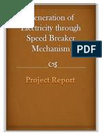 projectreport speed breaker