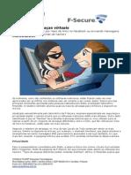 CONSULTCORP F-SECURE as Maiores Ameaças Virtuais