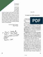 la economía como actividad institucionalizada, Polanyi