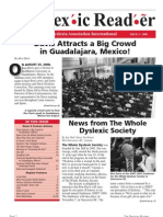 The Dyslexic Reader 2008 - Issue 50