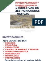 CARACTERISTICAS DE ESPECIES FORRAJERAS NATIVAS.ppt