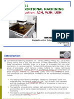 Lecture-11-Nonconventional Machining-Introduction, AJM,