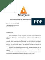 Atps-estrutura e Anlise Das Demonstraçoes Financeiras