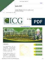 Libros ICG Marzo 2015
