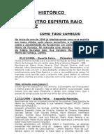 Centro Espirita Raio de Luz Històrico
