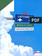 Latitudes 3 Methode de Français
