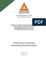 ATPS-Estrutura e Análise de Demosnt-Financeiras