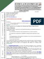 100210-SUBMISSION Re Native Vegetation Laws-Etc