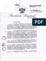 RD-06-2010-MTC-Requisitos Para Autorizacion Del Uso Del Derecho de Via