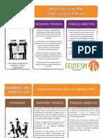 Fichas de Presentación - FC2015