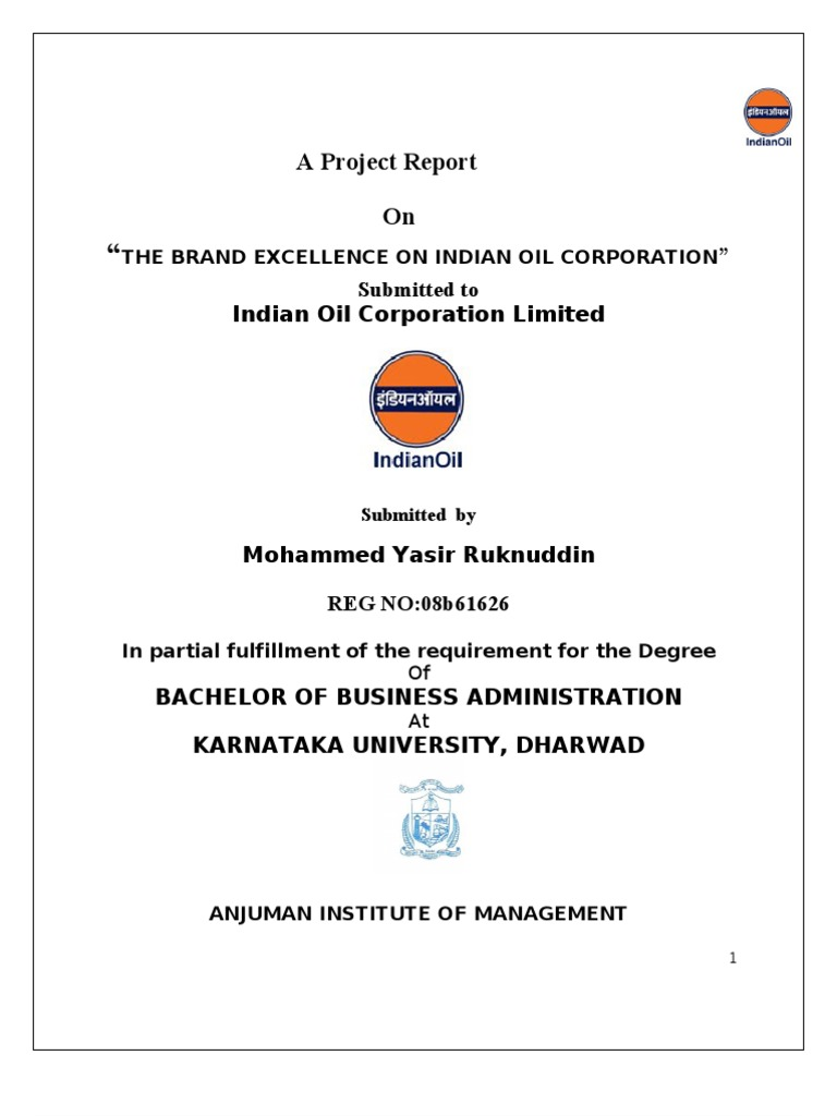indian oil project Allprojectreportscom : mba project report on liquidity and profitability of oil and gas industry, project on private oil and gas industries in india, hpcl, ongc, ioc, ril.