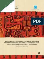 Promocion Del Desarrollo Economico Local Gobiernos Locales y Regionales
