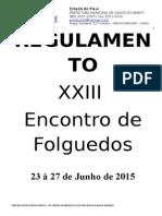 Regulamento 2015 Folguedos - Oficial