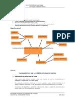 Fundamentación de las Estructura de la Estructura de Datos