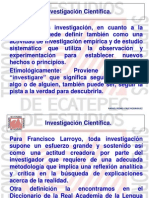 Unidad III FUNDAMENTOS DE INVESTIGACION