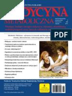 Medycyna Metaboliczna - 2015, tom XIX, nr 2