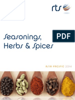 Seasonings, Herbs and Spices Sample