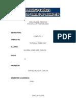 FACULTAD DE CIENCIAS-tutorial