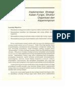 Bab8 Implementasi Strategi Kaitan Fungsi Struktur Organisasi Dan Kepemimpinan
