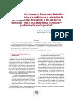 Valoración de Los Instrumentos Financieros Derivados - Sáenz de Santamaría
