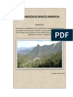 Modelo Diagnostico Impacto Ambiental