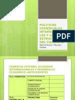 Politicas Comerciales Internacionales y La Estructura Del Comercio
