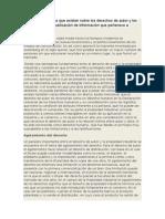 principales políticas que existen sobre los derechos de autor y los permisos para la publicación de información que pertenece a terceros