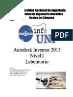 Manual Inventor 2015 - Nivel 1 - Laboratorio