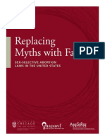 FINAL Replacing Myths With Facts