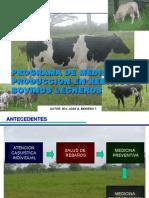 Programas Medicina de Produccion en Rebaños Bovinos Apure 2015