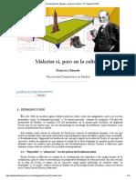 Francisco Bernete_ Malestar Sí, Pero en La Cultura -Nº 32 Espéculo (UCM)