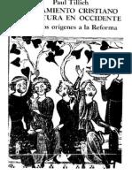Tillich Paul - Pensamiento Cristiano - De Los Origenes a La Reforma