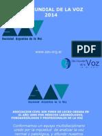 PPT Cuidados de La Voz 2014