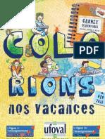 Brochure Colo Rions nos vacances - été 2010