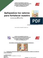 Proyecto de Aprendizaje II Lapso 3ero Fvm 2013- 2014