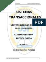 CLASS Sistemas Transaccionales (SISTRAC)