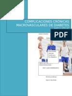 Complicaciones Cronicas Macrovasculares diabetes