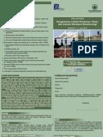 Pelatihan Limbah Pertanian, Pasar dan Industri