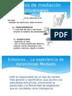 Criterios de Mediación Diferenciadores