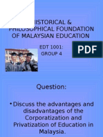 Privatisation and Corporation of Education